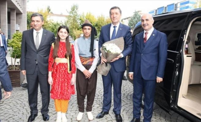 Milli Eğitim Bakanı Ziya Selçuk, Batman'ı Ziyaret Etti