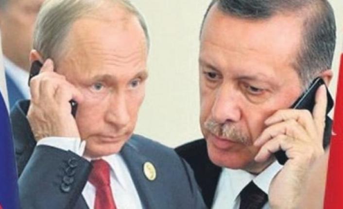 Cumhurbaşkanı Erdoğan, Rusya Devlet Başkanı Putin Telefonda Suriye ve Libya'daki Gelişmeleri Görüştü