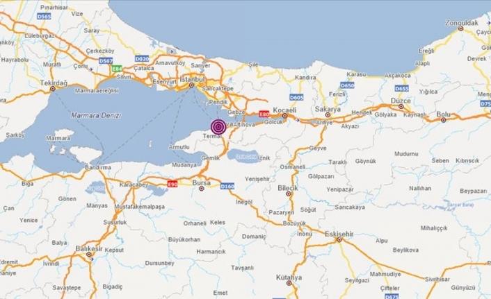 Yalova'da 4,0 Büyüklüğünde Deprem! İstanbul'da Hissedildi