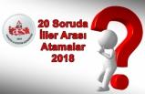 20 Soruda İller Arası Atamalar 2018