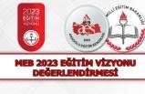 MEB 2023 Eğitim Vizyonu Değerlendirmesi