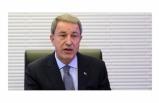 Milli Savunma Bakanı Hulisi Akar Çok Önemli Açıklama Yaptı