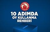 10 Adımda Oy Kullanma Rehberi