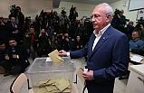 CHP Genel Başkanı Kılıçdaroğlu, Oyunu Çukurambar Arjantin İlkokulu'nda Kullandı