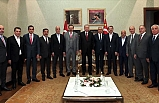 Cumhurbaşkanı Recep Tayyip Erdoğan, Türkiye-AB Karma İstişare Komitesi Üyelerini Kabul Etti