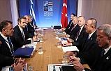 Cumhurbaşkanı Recep Tayyip Erdoğan, NATO Liderler Zirvesi Kapsamında Temaslarda Bulundu