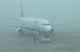 Erzurum'a Sis Düştü; Uçak Seferleri İptal Edildi