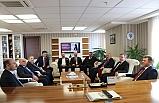 ÖSYM Başkanı Halis Aygün, Türk Eğitim-Sen Genel Merkezini Ziyaret Etti