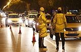 Yılbaşında 16 Bin 478 Trafik Kural İhlaline Ceza Kesildi