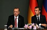 Cumhurbaşkanı Erdoğan, Macron İle Görüştü