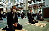 Cumhurbaşkanı Yardımcısı Fuat Oktay: Cuma Namazını Beştepe Millet Camisi'nde Kıldı