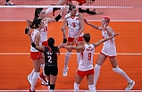A Milli Kadın Voleybol Takımı, Son Olimpiyat Şampiyonu Çin'i 3-0 Yendi