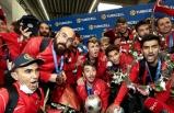 Avrupa Şampiyonu Ampute Futbol Milli Takımı Yurda Döndü