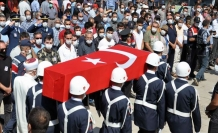 Şehit Jandarma Astsubay Kıdemli Çavuş Sinan Aktay Son Yolculuğuna Uğurlandı