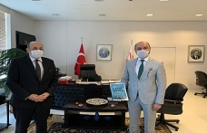 Genel Başkan'dan YÖK Başkanı Yekta Saraç'a Maarif Kongresi Ziyareti