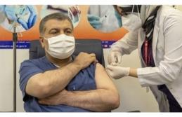 İlk Aşı Bakan Koca'ya Yapıldı