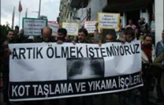 SİLİKOZİS HASTALARINA 24 MAYIS'A KADAR SÜRE TANINDI...