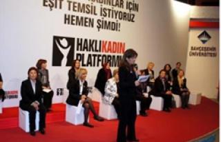 RAKAMLARLA TÜRKİYE'DE KADIN
