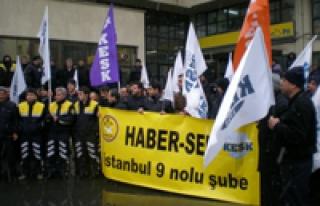 Haber-Sen 26 Mart'ta güvenceli iş için yürüyor