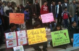 Eğitim Hakkı Meclisi'nden YGS protestosu