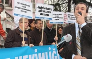İstanbul'da Sağlık Geçici Çözümlerle Yönetilmeye...