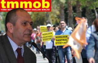 """TMMOB 24 NİSAN`DA İSTANBUL`DA """"NÜKLEER SANTRAL..."""