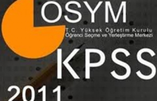 2011 KPSS A grubu ve öğretmenlik başvuruları başlıyor