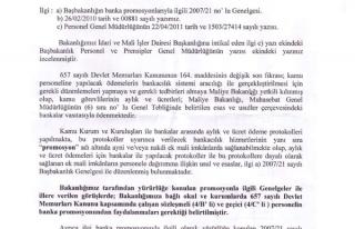 MEB 'BANKA PROMOSYONU 4/B VE 4/C LİLERE DE ÖDENMELİDİR'...