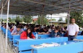 Türkiye'nin ilk açıkhava üniversitesi