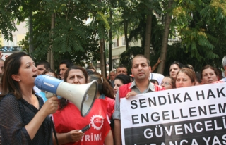 Taksim İlkyardım'da direniş