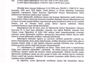 UZMANLIKTA MEB, ÖĞRETMENLERİ DAHA FAZLA MAĞDUR...