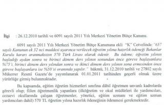 2011-2012 Öğretim Yılına Hazırlık Ödeneği,...