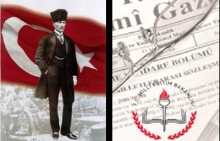 Yeni MEB yasasında Türk ve Atatürk'e yer yok!