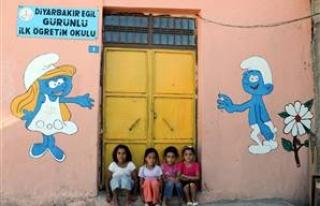 Bu köy okulu; Diyarbakır'ın gururu