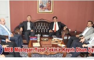 EBS'DEN MEB MÜSTEŞARI TEKİN'E ÇOK ÖZEL VE ACİL...