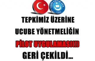 UCUBE YÖNETMELİĞİN PİLOT UYGULAMASI(!) GERİ...