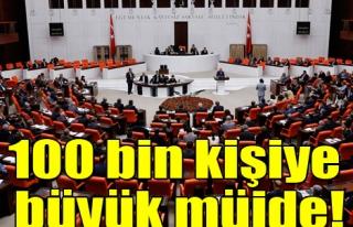 100 BİN SÖZLEŞMELİ KADROYA GEÇİYOR...