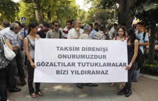 GEZİ PARKI EYLEMCİLERİNE 14 BİN LİRA ' ÇİMİ...