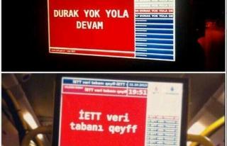 İETT HACKLENDİ