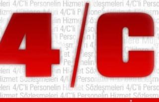 4/C'LİLERLE İLGİLİ KARARNAME YAYIMLANDI
