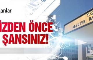 BORCU OLANLAR HACİZDEN ÖNCE SON ŞANSINIZ !