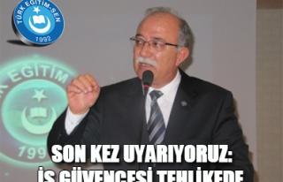 İŞ GÜVENCESİ TEHLİKEDE