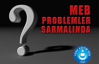 MEB PROBLEMLER SARMALINDA