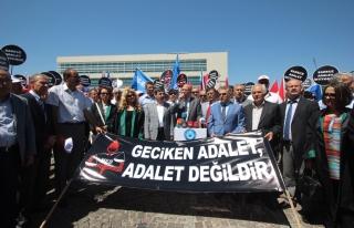 TÜRK EĞİTİM SEN AYM ÖNÜNDE ADALET İSTEDİ