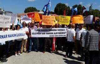 TÜRKİYE GENELİNDE, OKUL MÜDÜRÜ ATAMALARI PROTESTO...