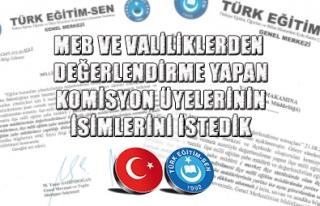 TÜRK EĞİTİM SEN DEN YÖNETİCİ ATAMALARI KONUSUNDA...