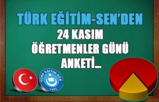 TÜRK EĞİTİM-SEN'DEN 24 KASIM ÖĞRETMENLER GÜNÜ...