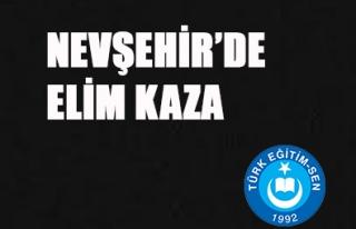 NEVŞEHİR'DE ELİM KAZA