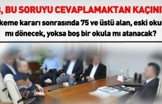 75 VE ÜSTÜ ALAN ESKİ OKULUNA MI,BOŞ BİR OKULA...