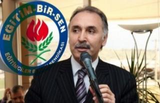 AHMET ÖZER EĞİTİMBİRSEN GENEL BAŞKAN ADAYLIĞINI...